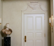 Grand Illusion Decorative Painting- Trompe l'oeil Ornamentaion Door Detail