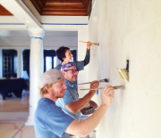 Grand Illusion Decorative Painting- Crew in Bermuda