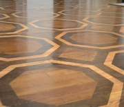 Grand Illusion Decorative Painting- Stained Geometric Floor