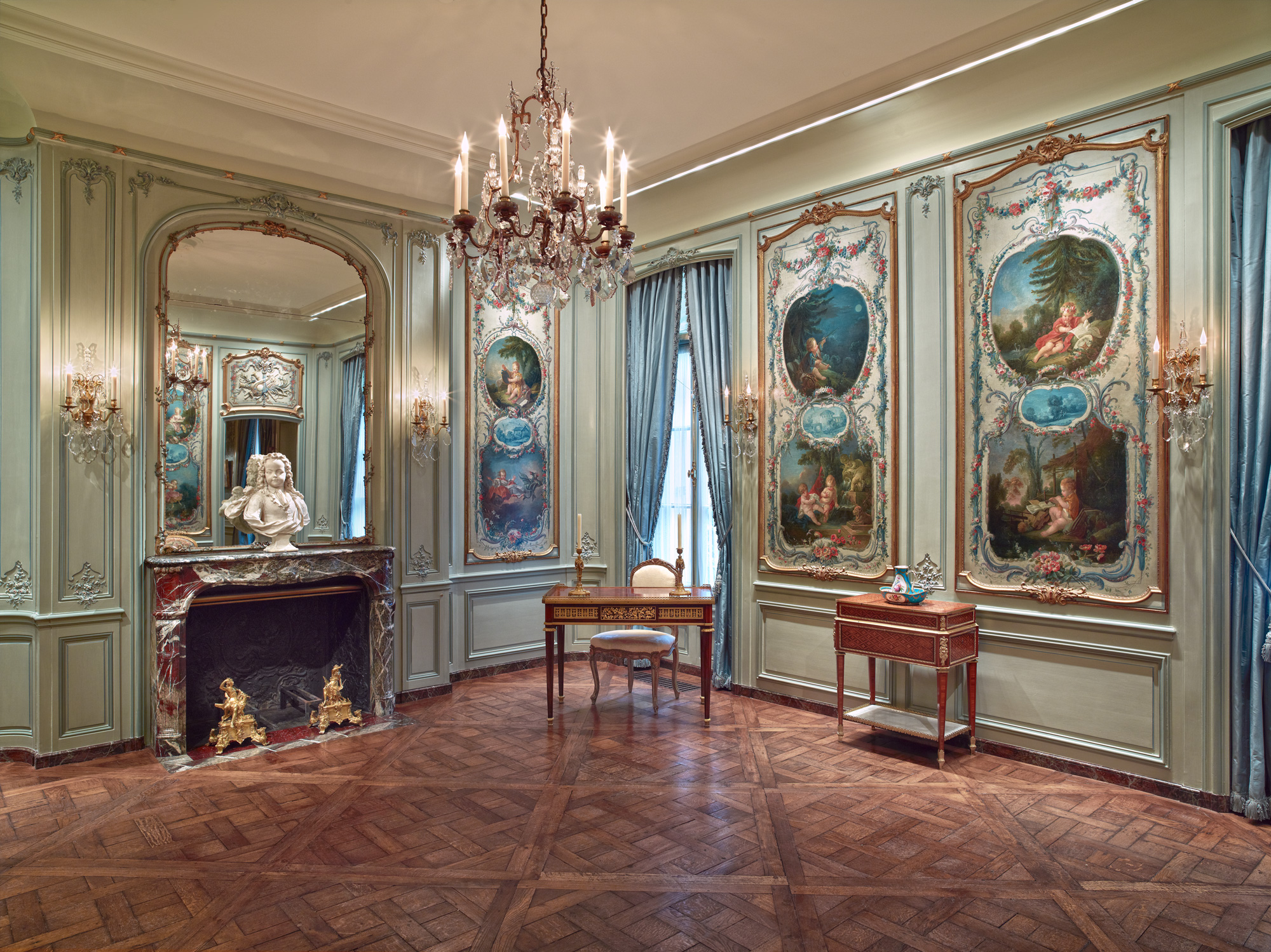 Boucher Room At The Frick Museum In New York From The