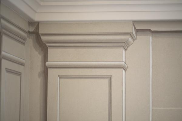 Pilaster From The Studio Of Pierre Finkelstein