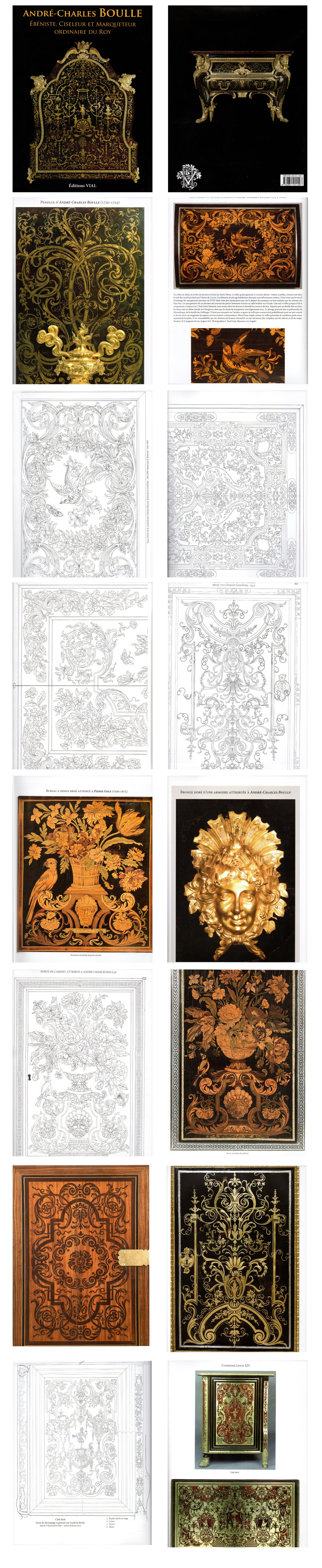 Andre-Charles Boulle - Book