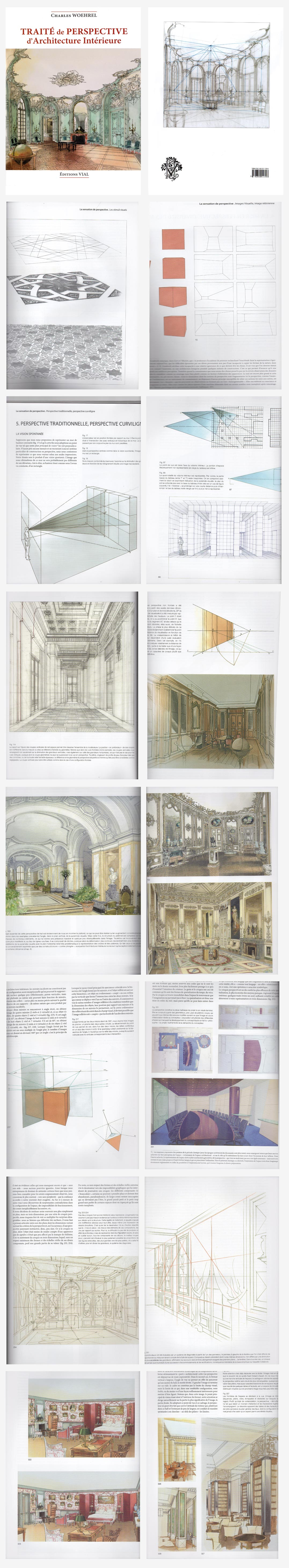 Perspective study of Interiors