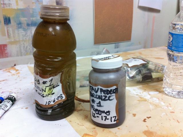 Pierre Finkelstein Beer Glaze mixture