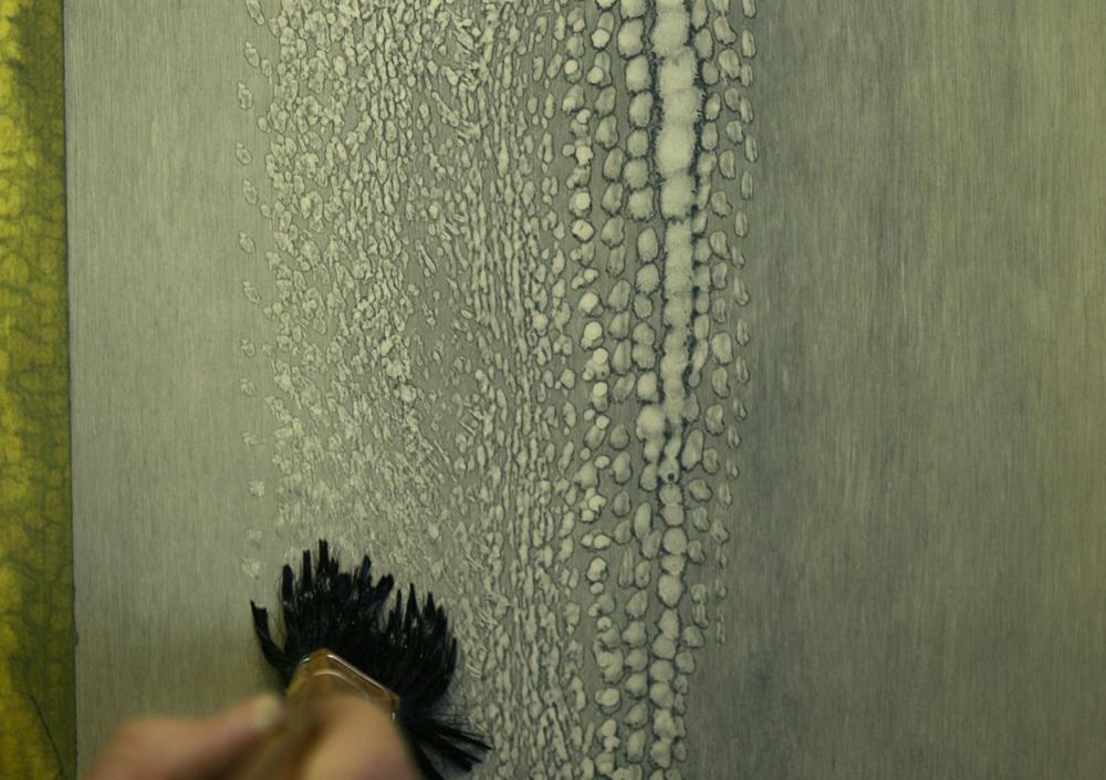 paint thinner technique