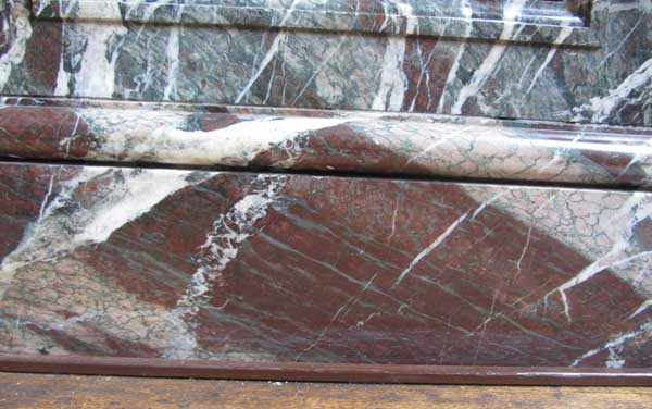 Pierre Finkelstein Versailles palace real marble violet and green campan