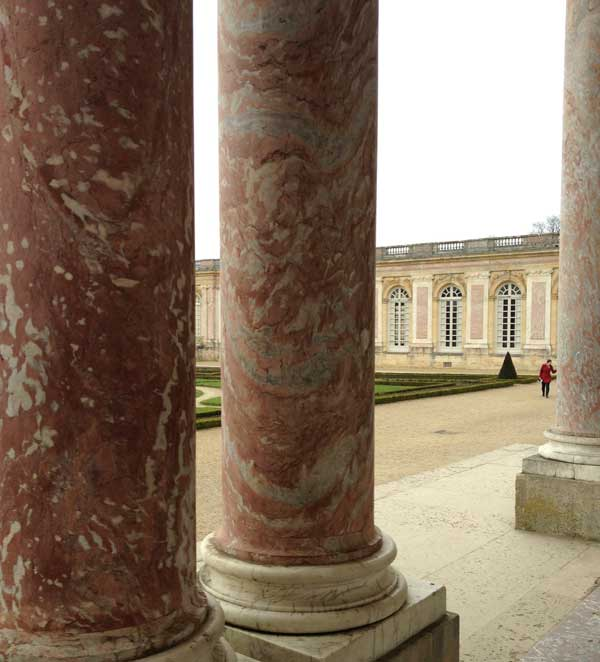 Pierre Finkelstein Versailles palace real marble Languedoc