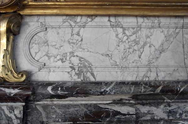 Pierre Finkelstein Versailles palace real marble white breccia