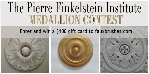 Pierre Finkelstein's Medallion Contest Banner