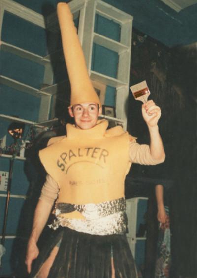 Spalter Boy Costume