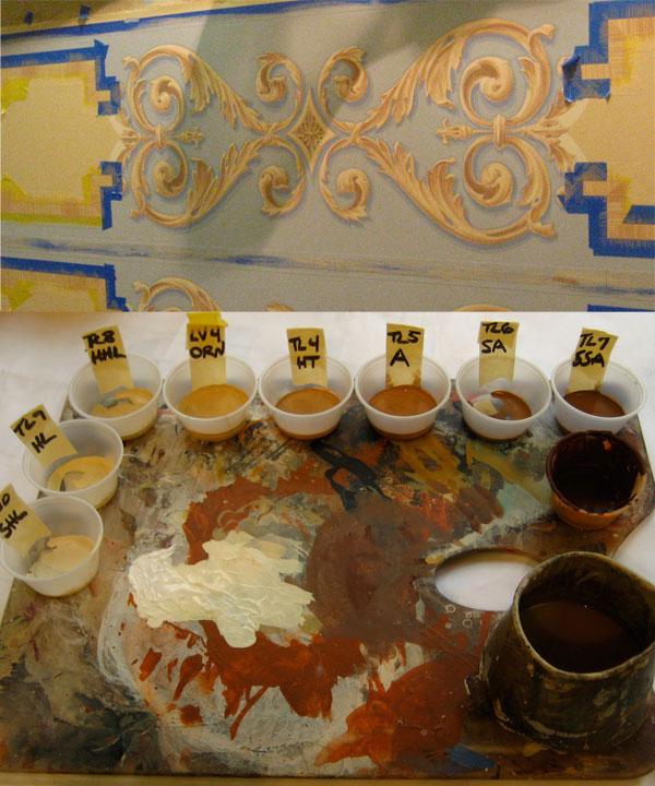 trompe l'oeil paintere's palette