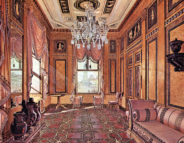 History of the decorative painter part 2 from the for Greek interior design history