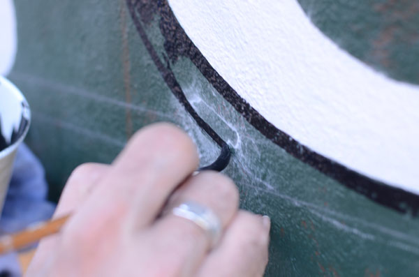 Drop Shadow for Lettering: Painting drop shadow