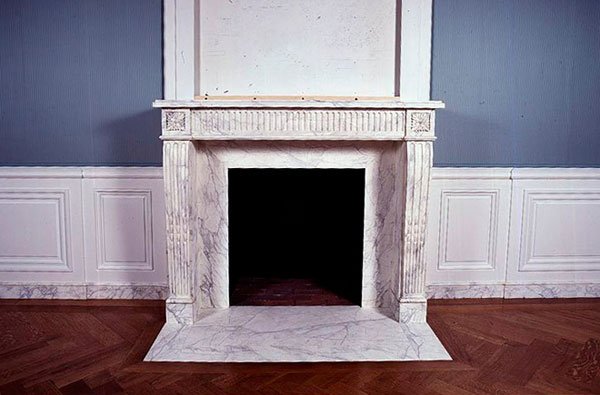 mantel at getty museum
