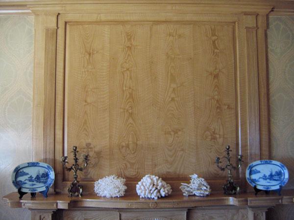 mantel pine woodgrain