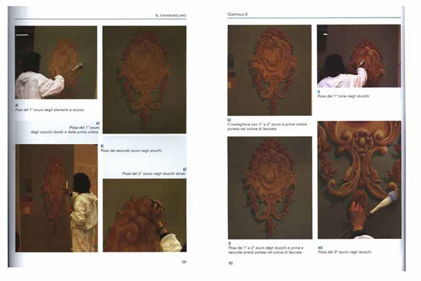 pages from Italian decorative painting book