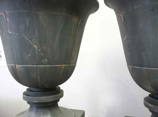 weathered lamps