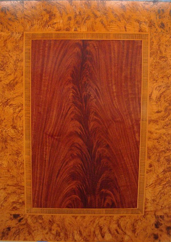 woodgrain burl