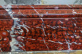 Red Griotte faux marble (part 1 of 2)