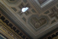 Ceiling repair at Frick Collection