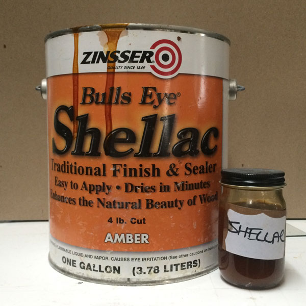 shellac used in our shop