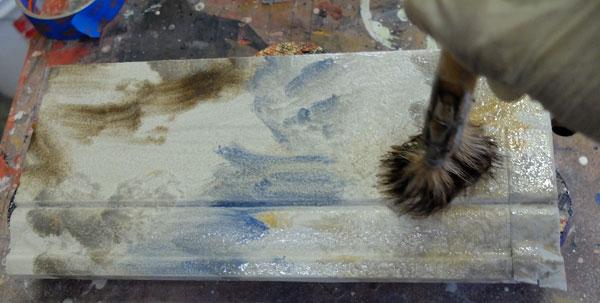 texture glaze