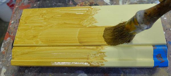brush on glaze