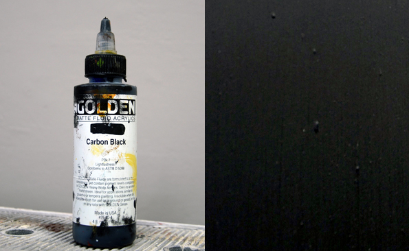 black color for decorative painting