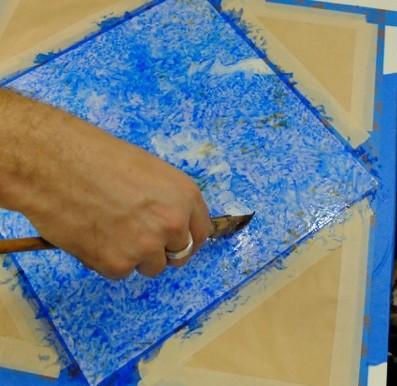 Veining 2-lazuli