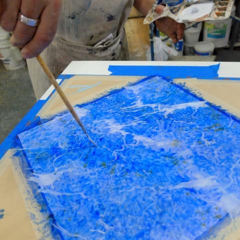 Secondary veins-Lazuli