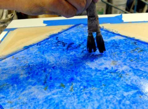 Flat squirrel brush-lazuli